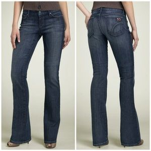 Joe's Jeans Low-Rise Honey Fit Bootcut in Perry 27